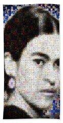 Frida Kahlo Mosaic Bath Towel