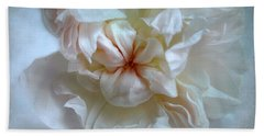 Friendship Is The Breathing Rose Bath Towel by Louise Kumpf