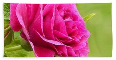 Friendship Rose Hand Towel