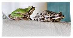 Frog Flatulence - A Case Study Bath Towel