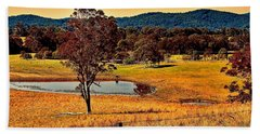 Hand Towel featuring the photograph From A Distance by Wallaroo Images