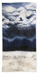 From The Midnight Sky Hand Towel