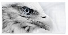 Frosty Eagle Hand Towel