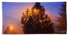 Frosty Sunrise 2 Hand Towel