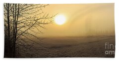 Frosty Sunrise Hand Towel