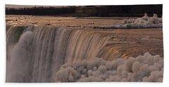 Frozen Falls Hand Towel