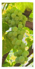 Fruit Of The Vine - Garden Art For The Kitchen Hand Towel