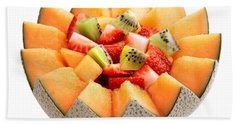Fruit Salad Hand Towel by Johan Swanepoel