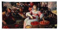Fruitmarket Summer, 1590 Hand Towel