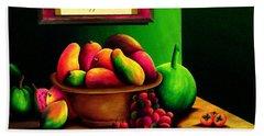 Fruits Still Life Bath Towel