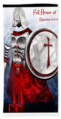 Full Armor Of God Bath Towel