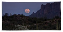 Full Moon Rising  Hand Towel