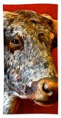 Full Of Bull Hand Towel by Dee Dee  Whittle