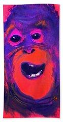 Funky Monkey Happy Chappy Bath Towel