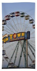 Funtown Ferris Wheel Hand Towel