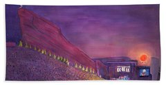 Furthur Red Rocks Equinox Bath Towel