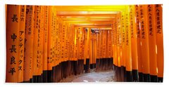 Fushimi Inari Bath Towel