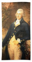 Gainsborough's Francis Bassat -- Lord De Dunstanville Bath Towel by Cora Wandel