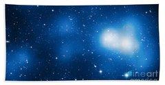 Galaxy Cluster Macs J0717 Bath Towel
