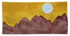 Gallup Original Painting Hand Towel