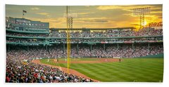 Fenway Park Hand Towel by Mike Ste Marie