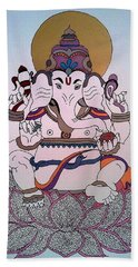 1 Ganesh Bath Towel