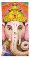 Ganesha's Blessing Hand Towel
