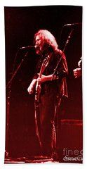 Hand Towel featuring the photograph Concert  - Grateful Dead #33 by Susan Carella