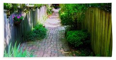 Garden Alley Bath Towel