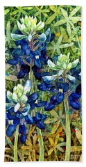 Garden Jewels I Bath Towel