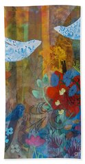 Garden Of Love Bath Towel