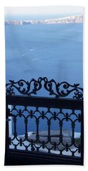 Gated Caldera Hand Towel by Debi Demetrion