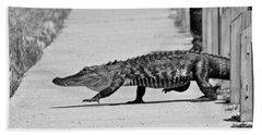 Gator Walking Hand Towel