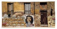 Gaucho Che Promotes Contraception Bath Towel