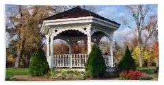 Gazebo At Olmsted Falls - 1 Bath Towel