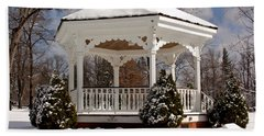 Gazebo At Olmsted Falls - 2 Bath Towel