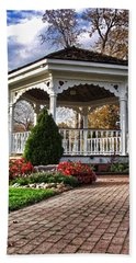 Gazebo At Olmsted Falls - 3 Bath Towel