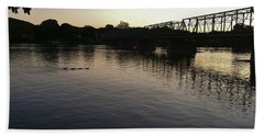 Geese Going Places Bath Towel