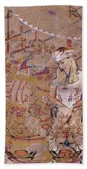 Geisha Girl Hand Towel