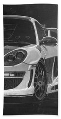 Gemballa Porsche Left Bath Towel