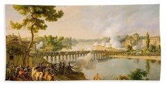 General Bonaparte Giving Orders At The Battle Of Lodi Bath Towel