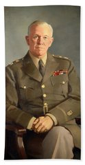 General George C Marshall Bath Towel