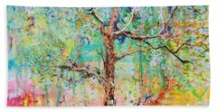 Genome Bath Towel by Regina Valluzzi
