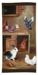 Gentle Creatures Hand Towel by Hazel Holland
