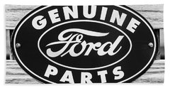 Genuine Ford Parts Sign Bath Towel