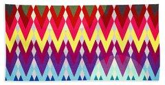 Geometric Colors  Bath Towel