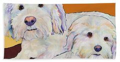 George And Henry Hand Towel