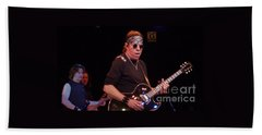Hand Towel featuring the photograph George Thorogood by John Telfer