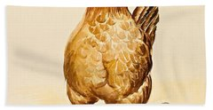 George's Hen And Her Chicks Hand Towel by Alison Cooper
