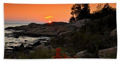 Georgian Bay Sunset Hand Towel